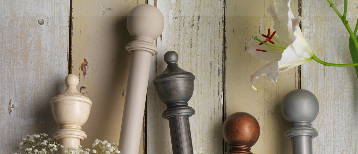 Swish Wooden Curtain Poles